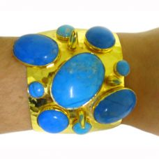 cuff turquoise