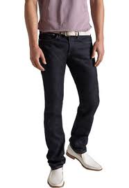 Proper jeans length for men