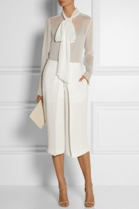 Evening glamour culottes