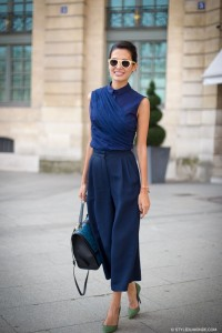 Smart daytime looks culottes