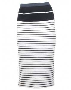 Peggy striped skirt