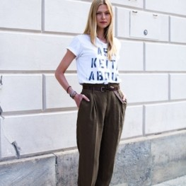 How to wear your t-shirt like a celebrity